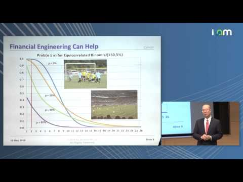 """Andrew Lo: """"Can Financial Engineering Cure Cancer? A New Approach to Funding Biomedical Innovation"""""""