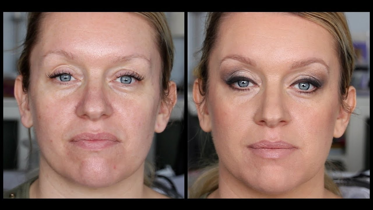 Soft Smokey Eye For 40 Year Old - Make-Up Tutorial -8370