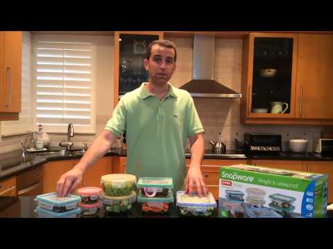 Snapware 18 Piece Total Solution Pyrex Glass Food Keeper Set Review