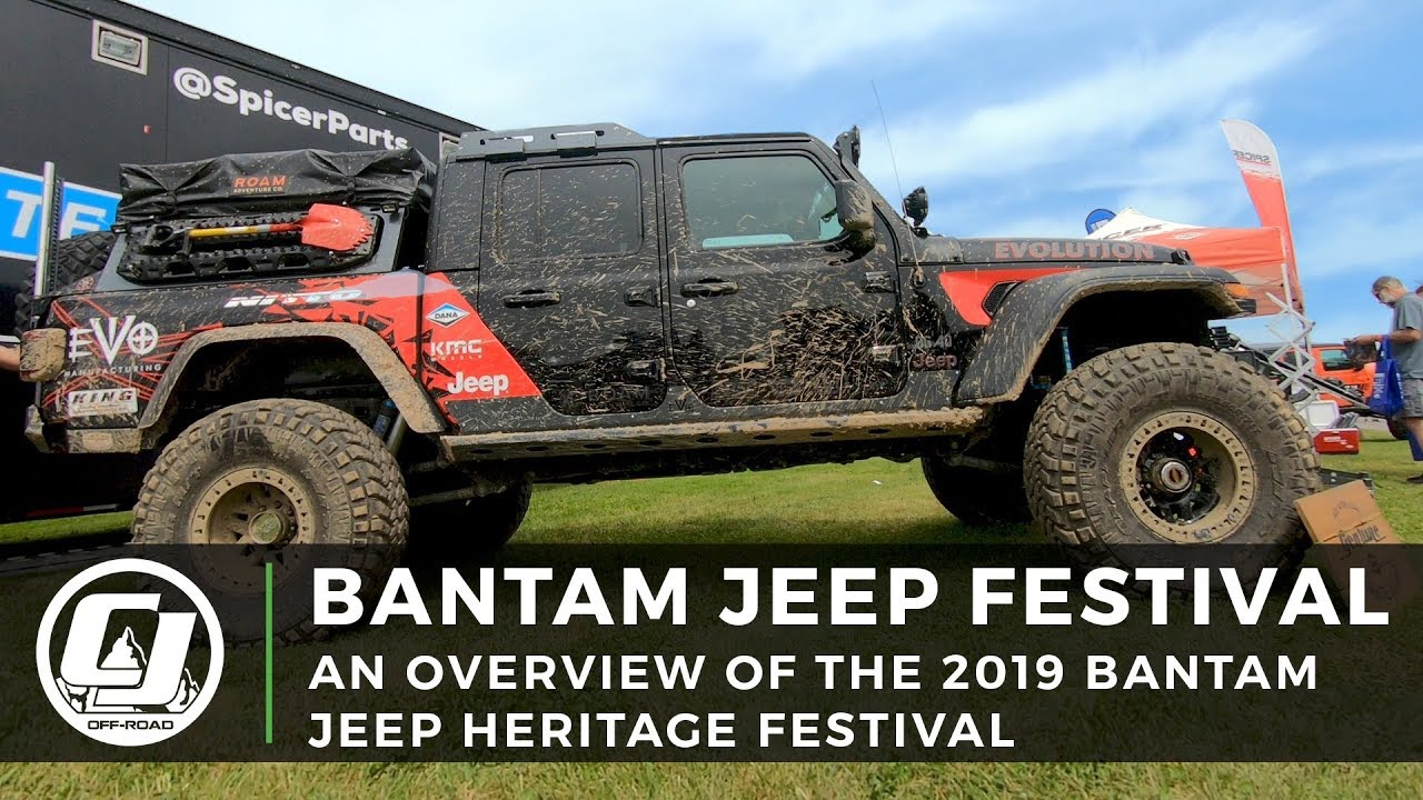 Bantam Jeep Festival 2019 Overview Youtube