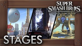 Super Smash Bros. Ultimate - All 103 Stages