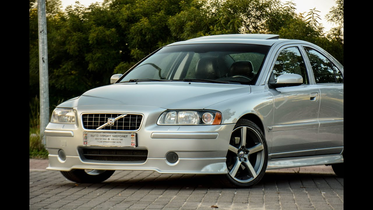 VOLVO S60 T5 SPORT EDITION 2,4 TURBO 260KM MANUAL AUTO IMPORT NIEPORĘT