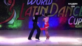 Max Shpungin & Amanda Arenas, USA, Salsa On 2 Amateur Couple, Final Round, WLDC 2015