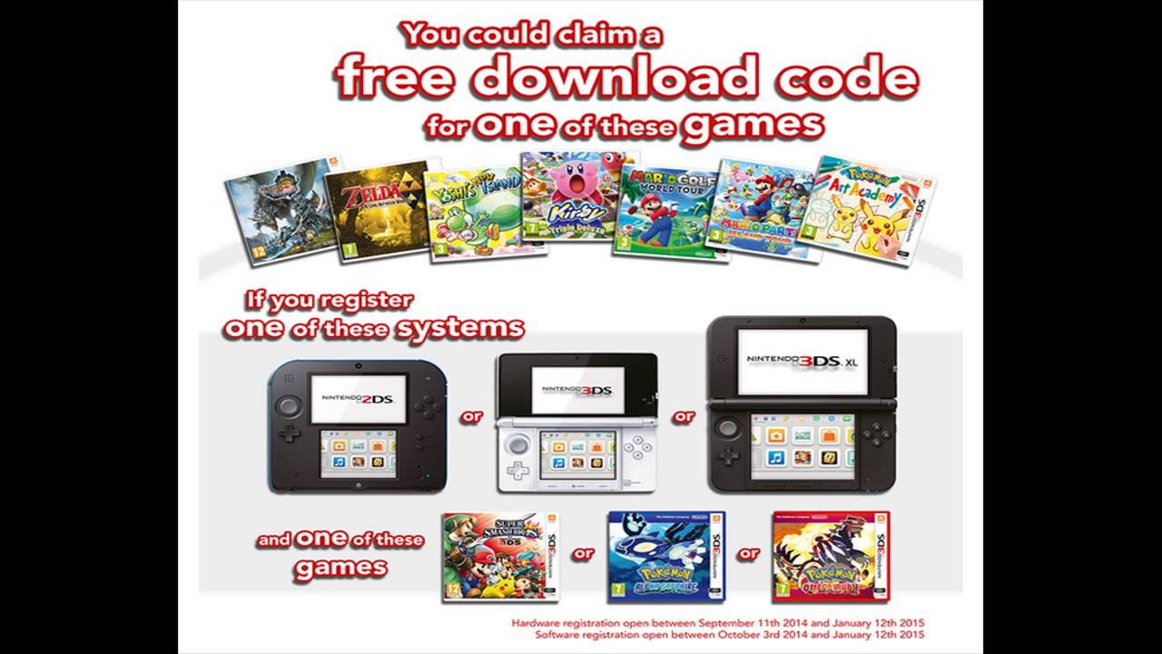 How To Get A 3DS Game For FREE! (Nintendo 3DS Winter 2014 ...