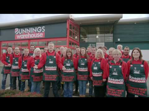 What makes Bunnings Warehouse great - Griffiths Way, St. Albans