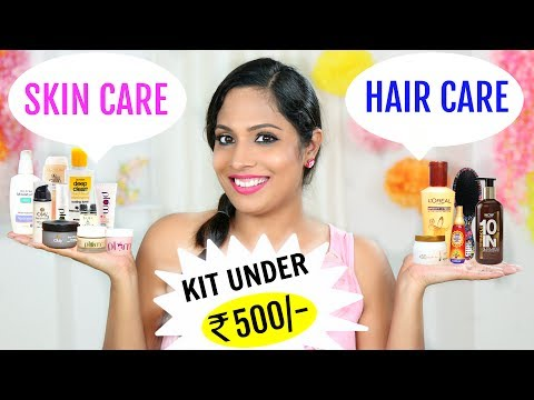 Affordable Skincare & Haircare Kits - All Products Under ₹500/- | ShrutiArjunAnand
