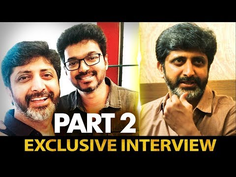 Next Film with Vijay as discussed during our latest meet | Director Mohan Raja Interview - Part 2