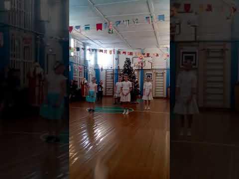 Новый год))) Гривенской школе.