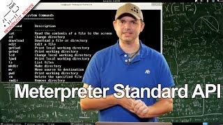 Meterpreter Standard API - Metasploit Minute