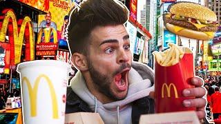 Je teste un Mcdo à New‑York !