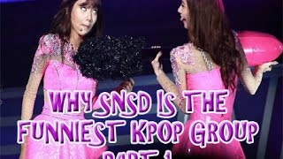 SNSD: THE FUNNIEST KPOP GROUP PART 1 - Stafaband