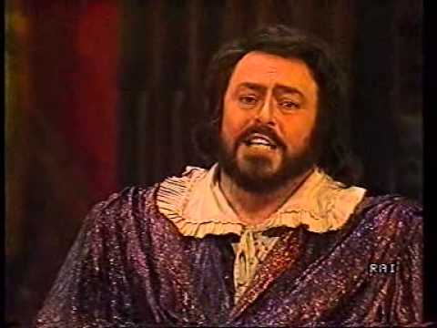 Verdi: Un Ballo in maschera. Abbado - Pavarotti. Vienna 1986. Part 3 of 3.