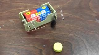 小学校5年理科の電磁石モーター作り 作ってみました。