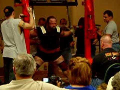 Dave Barno 432kg/950lb squat