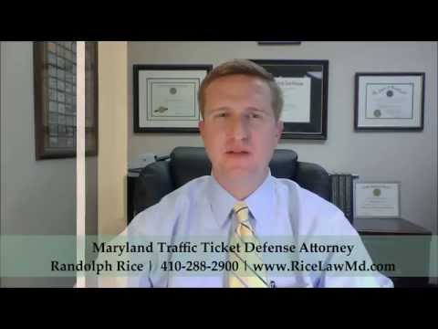 Penalty for Driving Without a License in Maryland | Attorney Randolph Rice