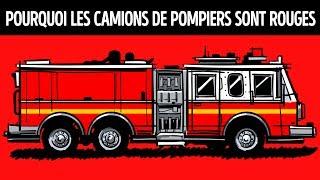 Pourquoi les Camions de Pompiers Sont Rouges