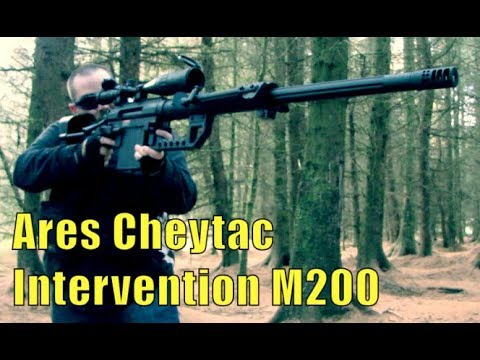 Airsoft War Cheytac Intervention M200 and lots more