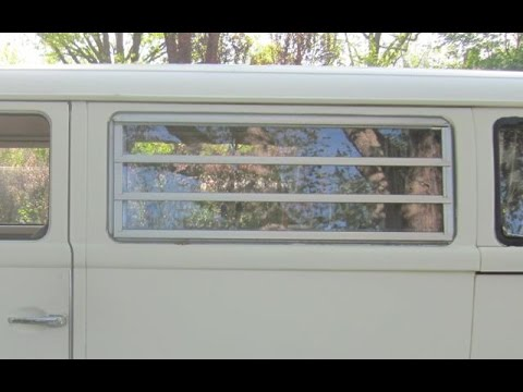 How to:  VW Type 2 Campmobile Jalousie Louvered window rebuild.