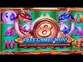 Dragon's Law Twin Fever Slot Bonus Won | GREAT SESSION | $500 Play on Volcanic Rock Fire Twin Fever
