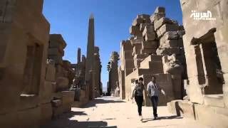 سلطة الآثار المصرية تبدأ في ترميم معبد الكرنك