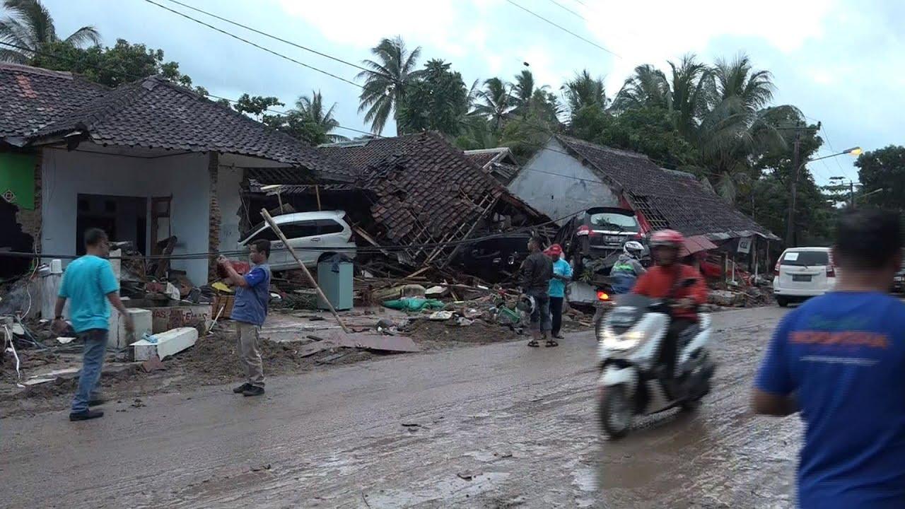 Hundreds Killed After Tsunami Strikes Indonesia Without Warning | NBC Nightly News