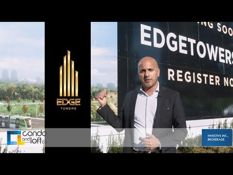 Edge Towers Condos Mississauga- Downtown Mississauga -Solmar- Condo and Loft