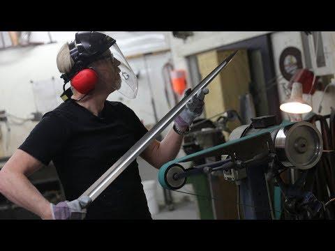 Adam Savage's One Day Builds: Swordmaking at Weta Workshop!