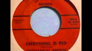 Mechanical Switch - Everything Is Red