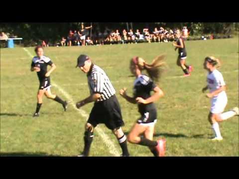Saucon Valley vs Bangor Girls Soccer 1st Half Sept 16, 2015