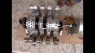 Magnet Motor - Free Energy Selfrunning 2/2