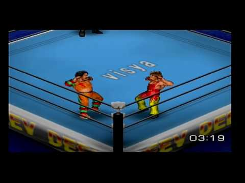 Fire Pro Wrestling Returns Kei Sato vs Fukuda Mango