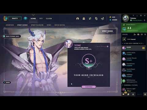 Yone Spirit Petal (Spirit Bond S+) | League of Legends