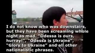 Odessa pogrom: eyewitness tells about her experiences