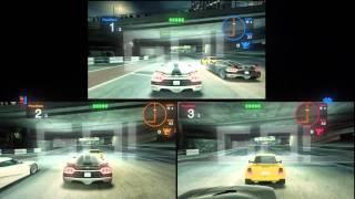 Blur- 3 players splitscreen