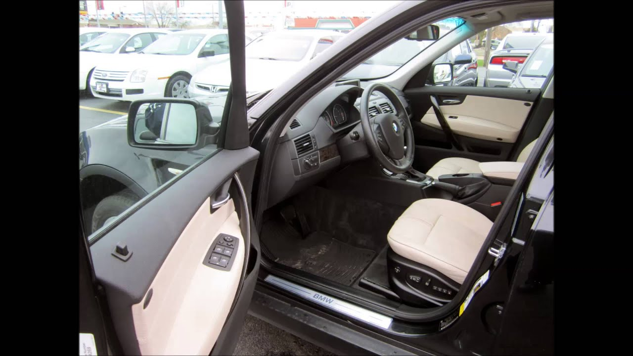 2009 BMW X3 BLACK
