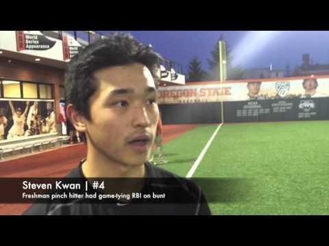 Pat Casey, Steven Kwan on Oregon State comeback win over Stanford