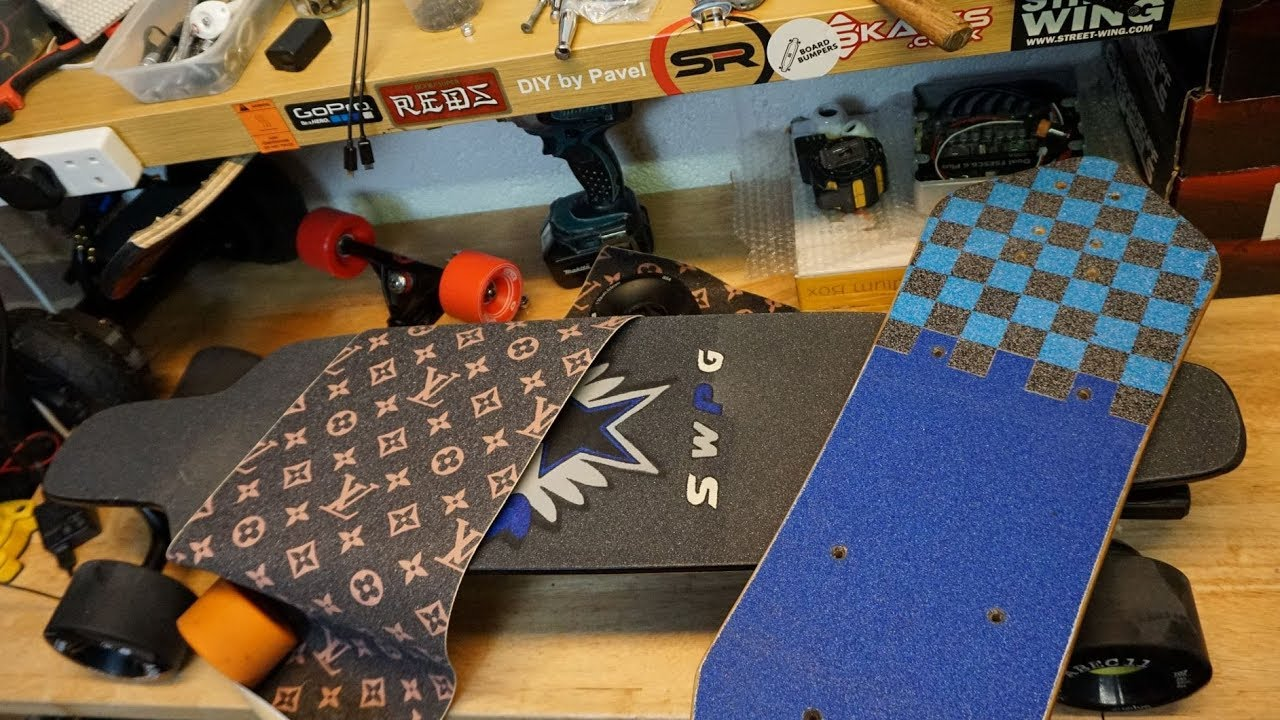 Louis Vuitton ESK8 Grip Tape   Did You Know 06  - YouTube