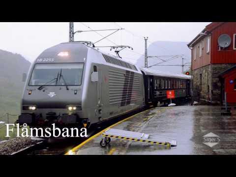 Flåm Railway, Norway  -   Myrdal to Flåm