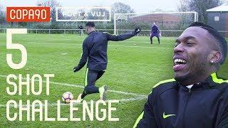 5 Shot Challenge with Daniel Sturridge! ft. Poet & Timbsy