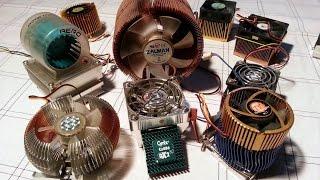 Эволюция процессорных кулеров