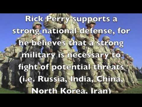 Rick Perry 2016 Candidate Spot 1