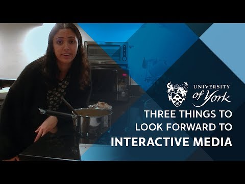 Interactive media: 3 things to look forward to