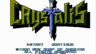 Crystalis (NES) Game Music: Pyramid Theme