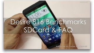 HTC Desire 816 Benchmarks Moving Apps to SDCard & FAQ