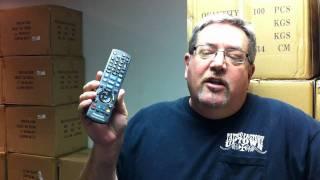 how to use the original panasonic n2qakb000072 remote control