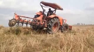 tractor -  Kubota M6040SU Mower Broken dropped, prepar new, stuck, videos, fail, accidents