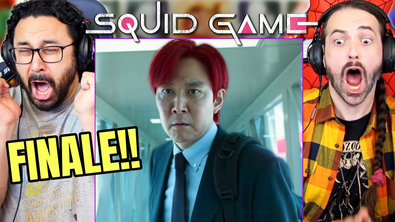 """Download SQUID GAME EPISODE 9 FINALE REACTION!! 1x9 """"One Lucky Day"""" Spoiler Review 