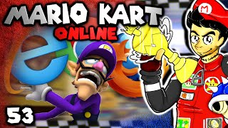The Internet Screwed Me! (Mario Kart 8 Online: The Derp Crew - Part 53)