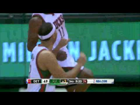 LIVE Detroit Pistons Vs Milwaukee Bucks 21 MAR 2016