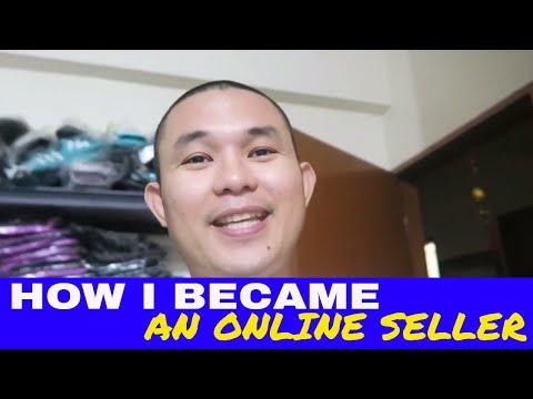 How I became an Online Seller - via Shopee